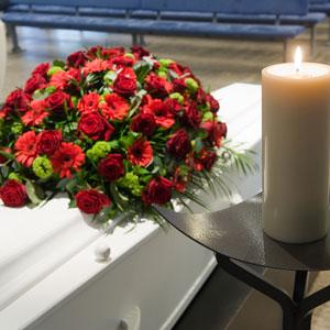 arrange a funeral